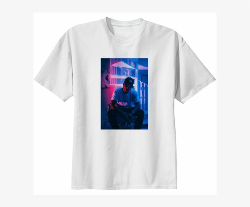 Shop Bryson Tiller Shirt Cotton T-shirt By M Valencia - Crazy Cat Lady New T Shirt S M L Xl 2x 3x 4x 5x Fun, transparent png #1718140