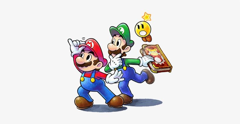 Paper Mario Joins Mario & Luigi - Mario & Luigi Paper Jam Bros. (nintendo 3ds), transparent png #1719263