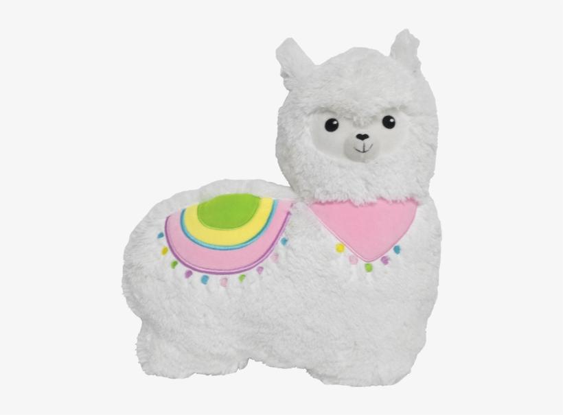 Llama Stuffed Animal - Llama Fur Pillow, transparent png #1720663