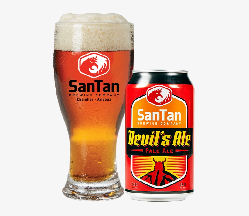 Devil's Ale Draft And Can - San Tan Mr Pineapple Wheat Ale - 6 Pack, 12 Fl Oz Cans, transparent png #1722679