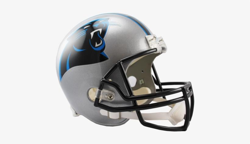 Carolina Panthers Nfl Full-size Helmet Replica - New Orleans Saints Full Size Replica Football Helmet, transparent png #1723134
