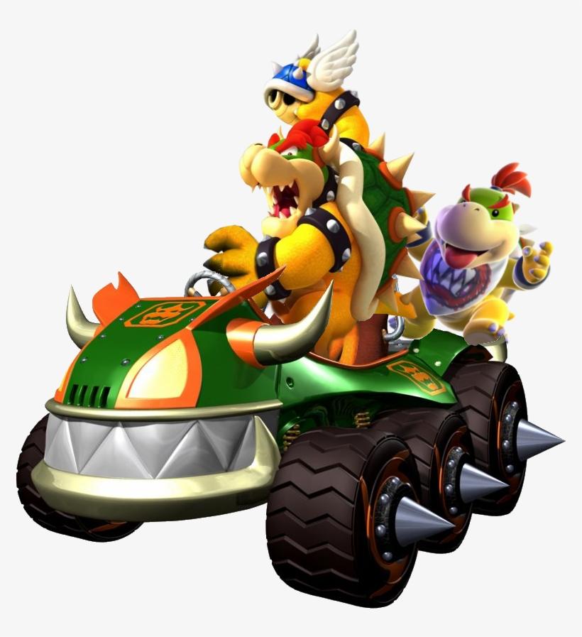 582 Kb Png Mario Kart Double Dash Personajes Free