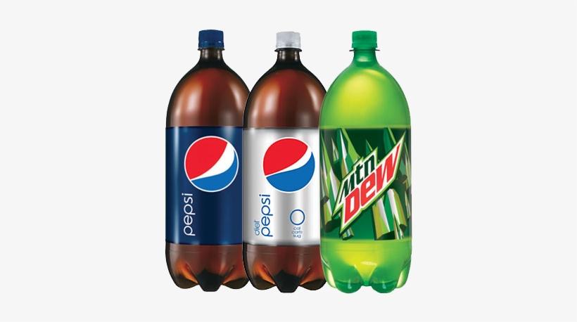 Sprite Bottle Png Menu - Pepsi, Caffeine Free - 2 L Bottle, transparent png #1728733