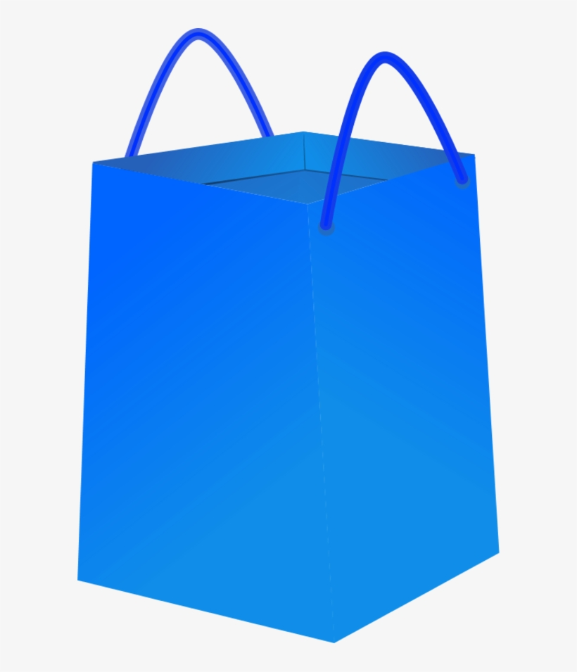Vector Clip Art - Shopping Bags Clipart Png, transparent png #1729069
