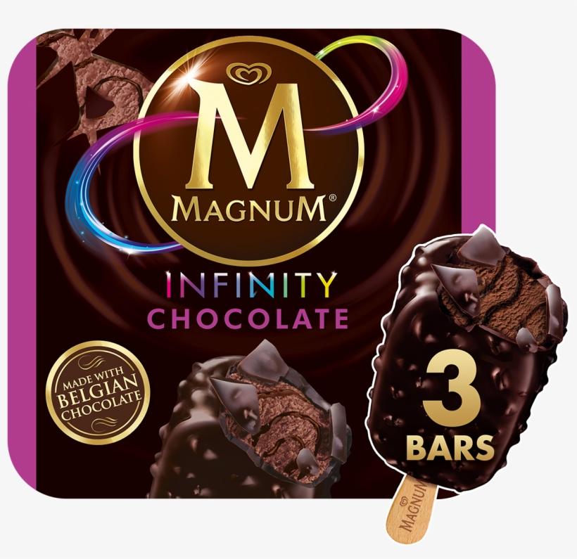 Magnum Double Chocolate Ice Cream, transparent png #1732195
