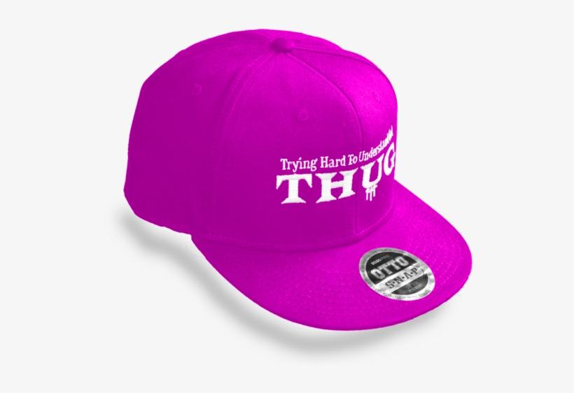 Pink Thug Snapback Hat - Baseball Cap - Free Transparent PNG ... b337cdee6bd6