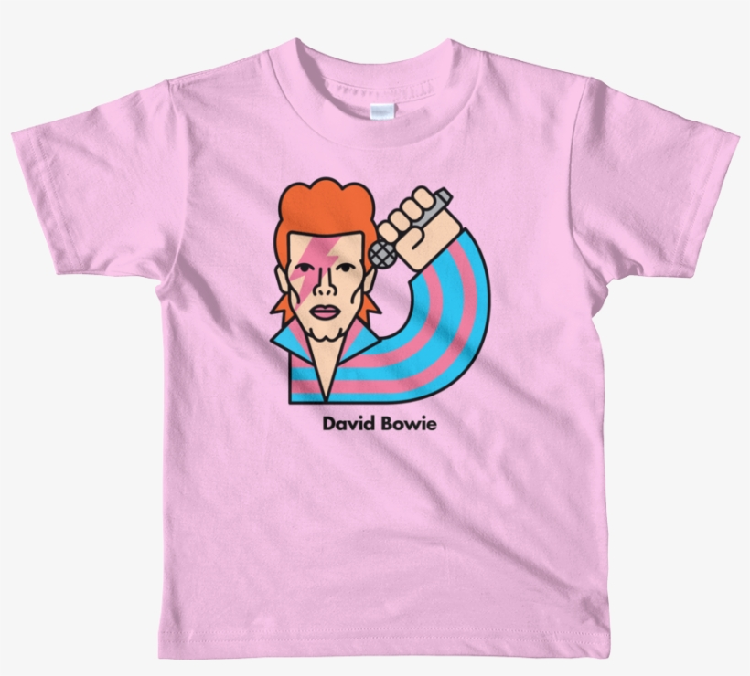 David Bowie Kids T - Kids Personalized Shirt | Short Sleeve Kids T-shirt, transparent png #1733078