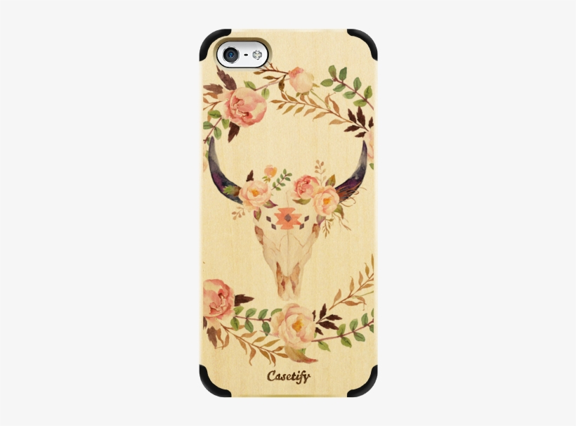 Casetify Iphone 5 Wood Case - Flower Girl Proposal Cards, transparent png #1733253