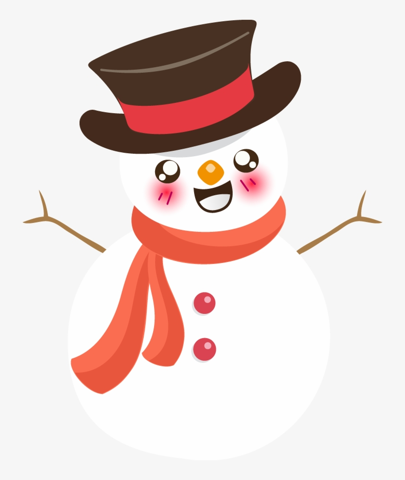 Jpg Royalty Free Stock Collection Of Melting High Quality - Cute Snow Man Clip Art, transparent png #1736341