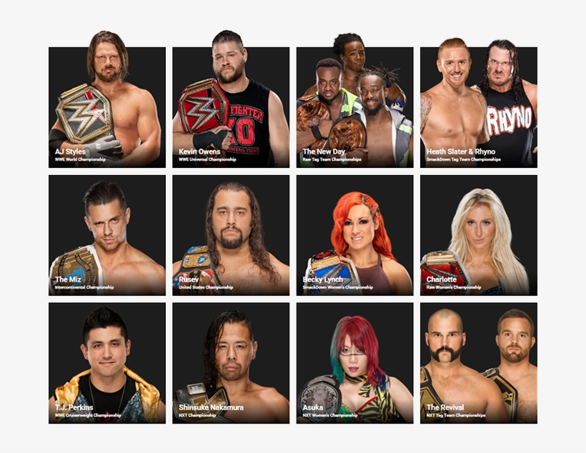 Wwe Discussion Keeps Waiting To Get To The Cruiserweight - Wwe Raw And Smackdown Champions, transparent png #1737195