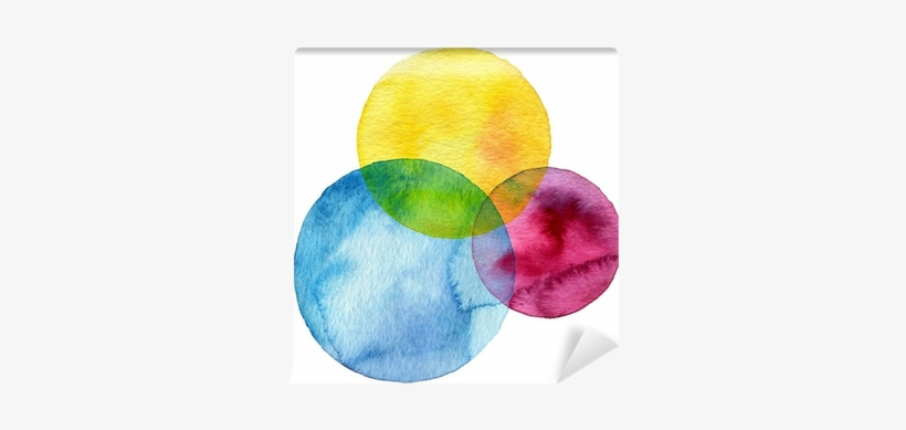 Abstract Watercolor Circle Painted Background Wall - Watercolor Circle No Background, transparent png #1737915