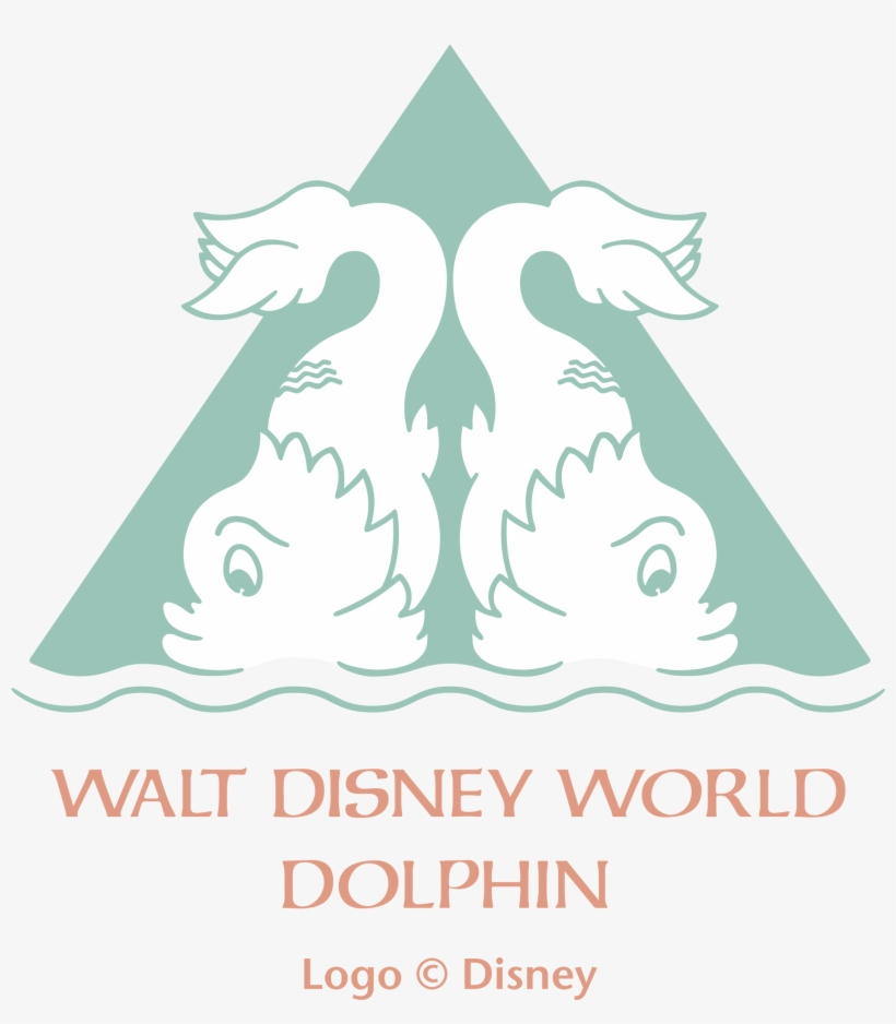 Walt Disney World Dolphin Logo Png Transparent - Dolphin Hotel Disney Room, transparent png #1740878