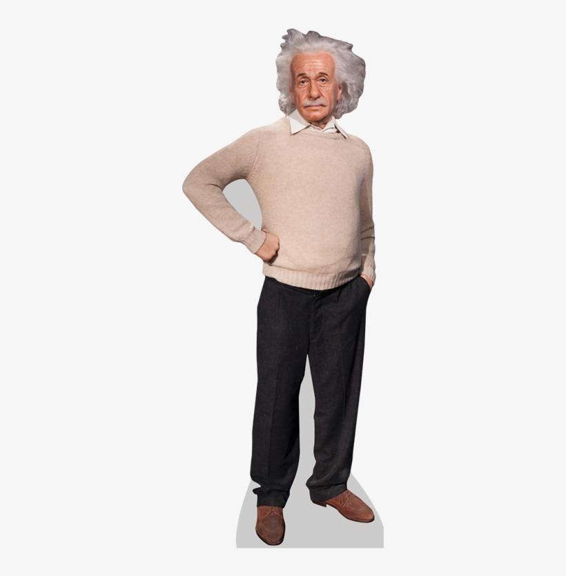 Albert Einstein Cardboard Cutout - Celebrity Cutouts Albert Einstein Life Size Cutout, transparent png #1742933