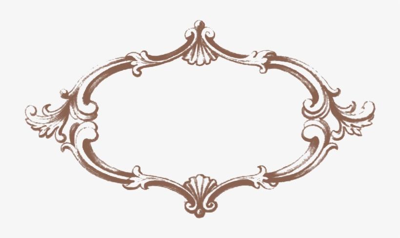 Download Brown Vintage Fancy Frame - Vintage Frame Brown Png, transparent png #1744506