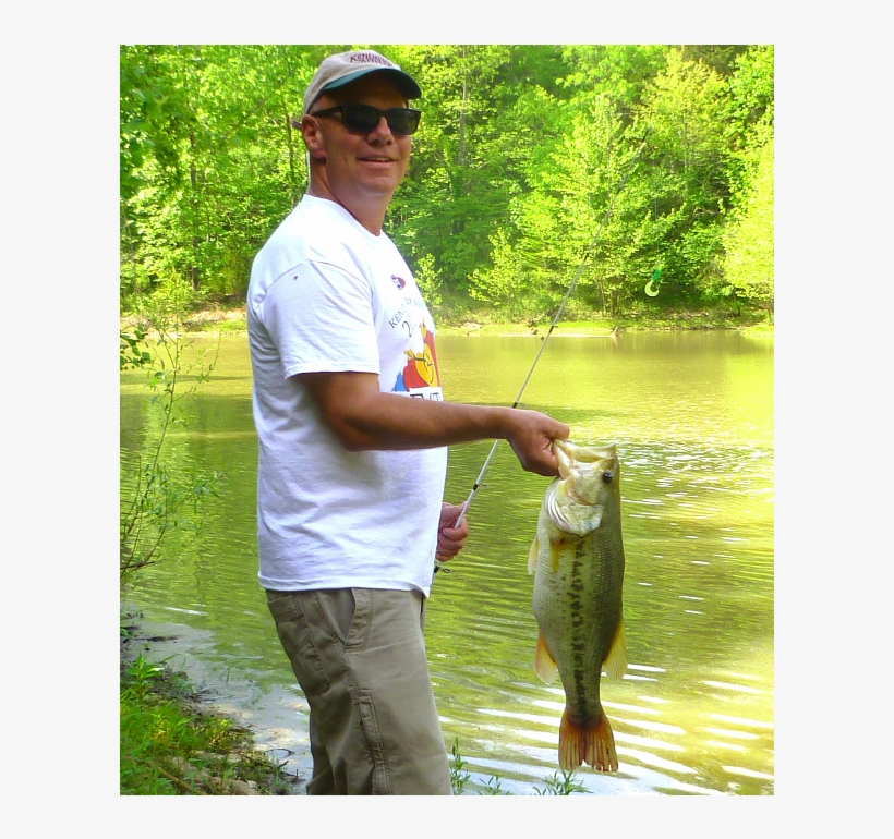 Frankfort June Is One Of The Best Months For Outside - Bass Fishing, transparent png #1745559