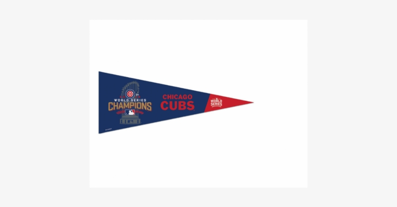2016 Chicago Cubs Pennant 2016 Mlb World Series Champions - Wincraft Chicago Cubs Towel - Locker Room - 24 In X, transparent png #1745648