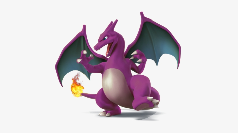 One Of Them Looks More Like Charmeleon, And Another - Amiibo Super Smash Bros Charizard, transparent png #1746024