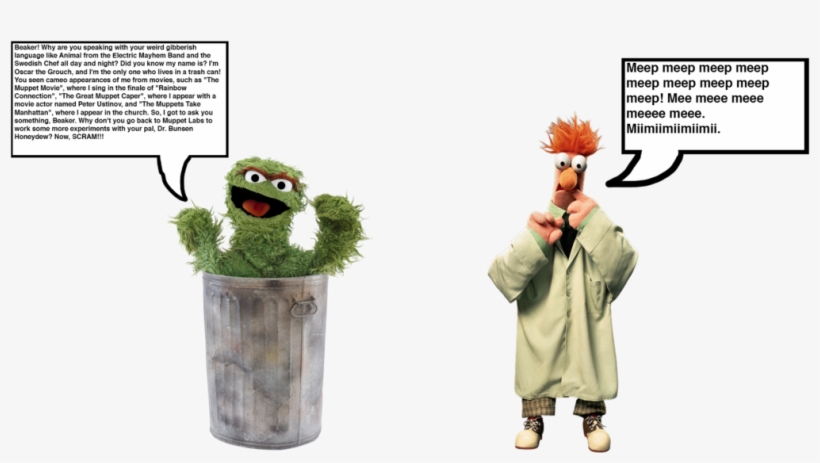 Meets Oscar The Grouch - Muppets Character Encyclopedia (dk), transparent png #1746292