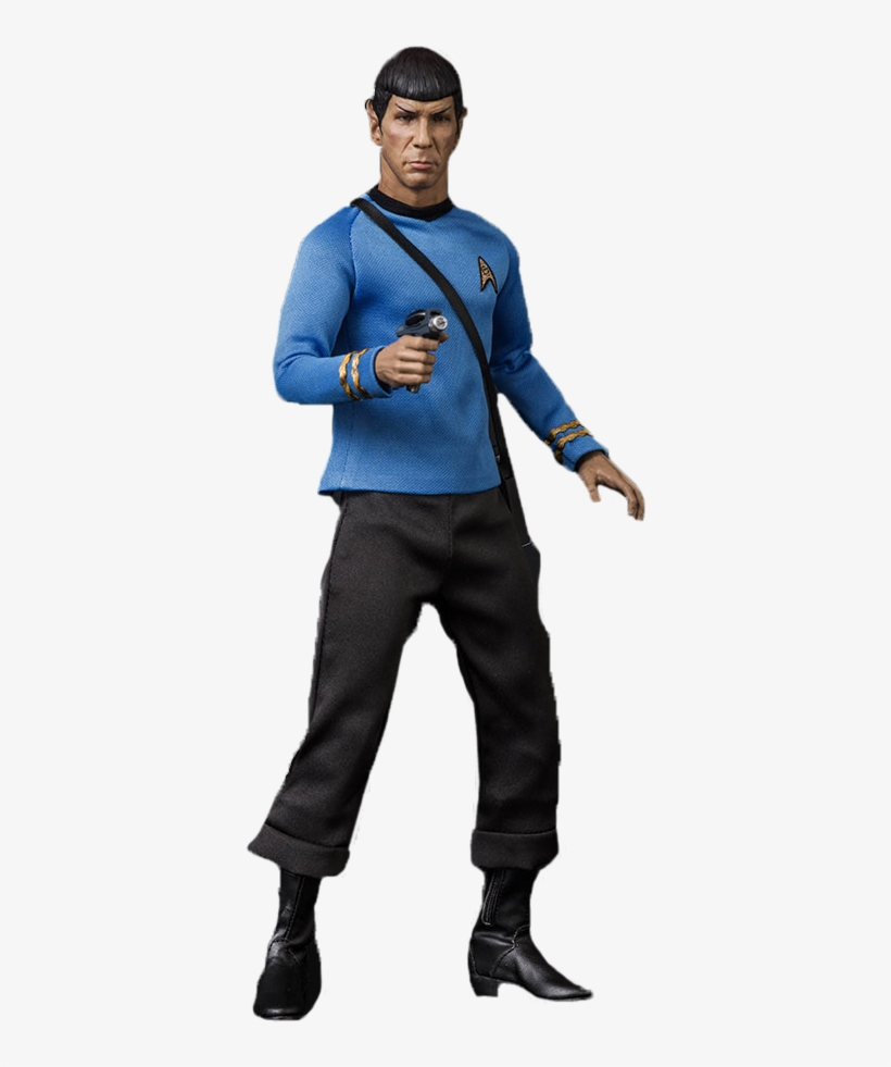 Spock 1/6th Scale Exclusive Action Figure - Star Trek: Tos Spock 1:6 Scale Articulated Figure, transparent png #1746318