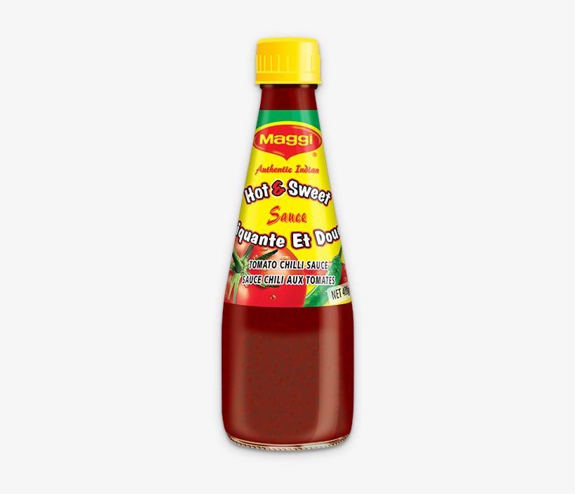 Maggi Hot And Sweet Sauce - Maggi Hot & Sweet Tomato Chilli Sauce 90gms, transparent png #1746663