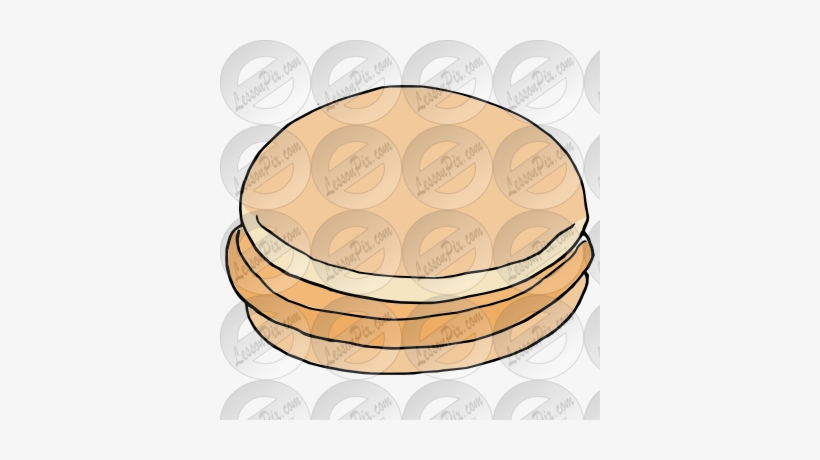 Chicken Sandwich Picture For Classroom Therapy Use - Chicken Sandwich Clip Art, transparent png #1747433