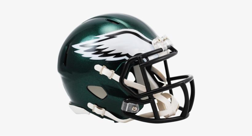 Philadelphia Eagles Nfl Riddell Speed Revolution Mini-helmet - Philadelphia Eagles Helmet, transparent png #1748408