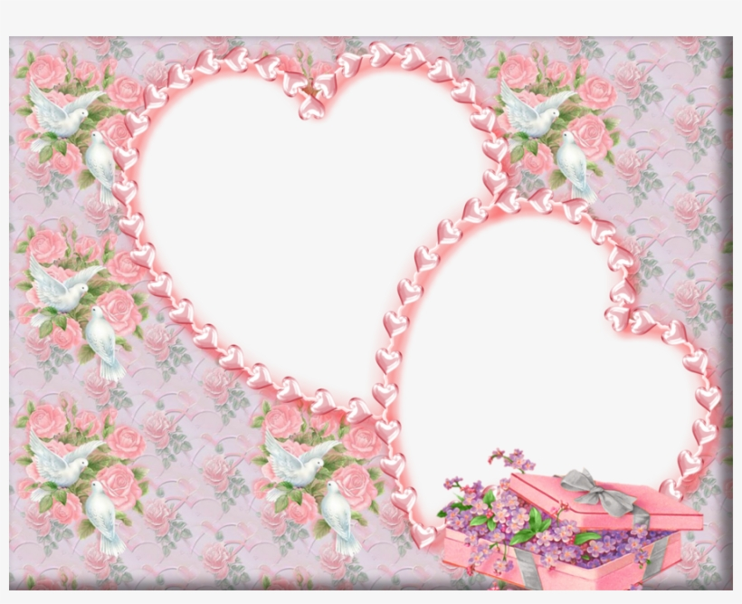 Pink Wedding Frame Background Clipart Wedding Invitation