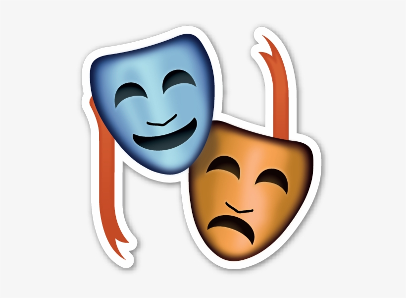 If You Are Looking For The Emoji Sticker Pack, Which - Performing Arts Emoji Png, transparent png #1749971