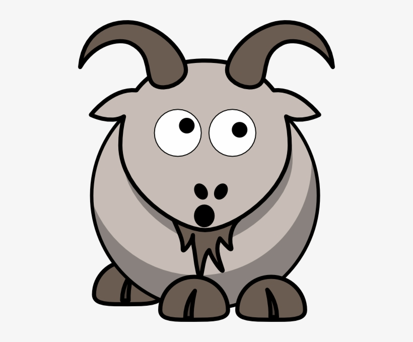 Goats Head Clipart Animated Cartoon Goat Transparent Free Transparent Png Download Pngkey