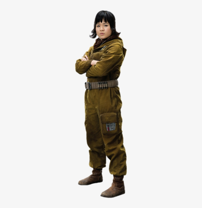 Rey The Last Jedi Png - Rose Star Wars Cosplay, transparent png #1756021