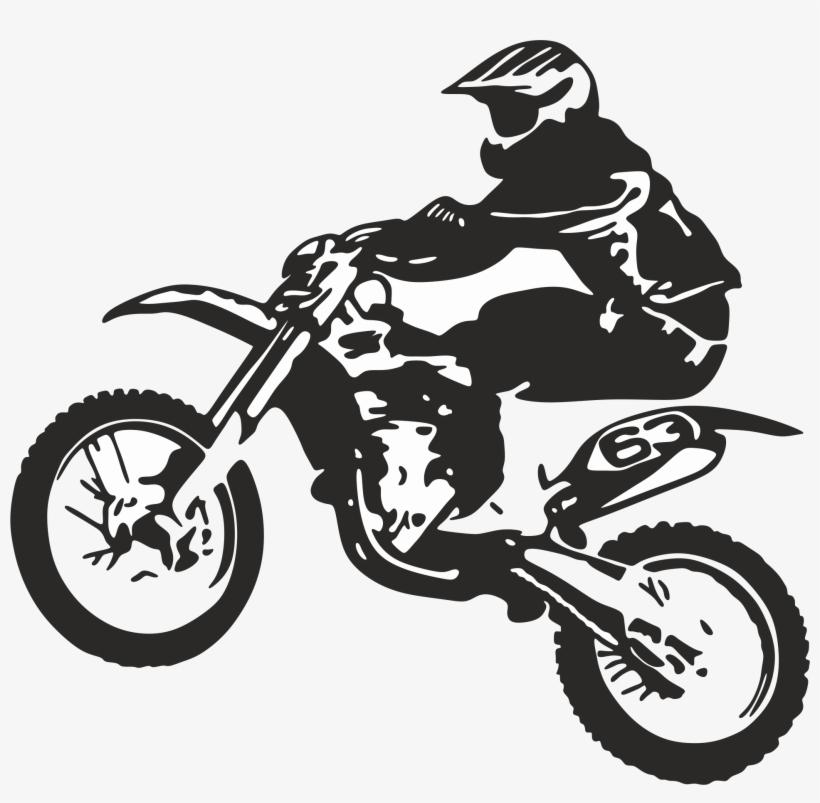 Icon Moto 1 - Dirt Bike Wheelie Logo, transparent png #1757254