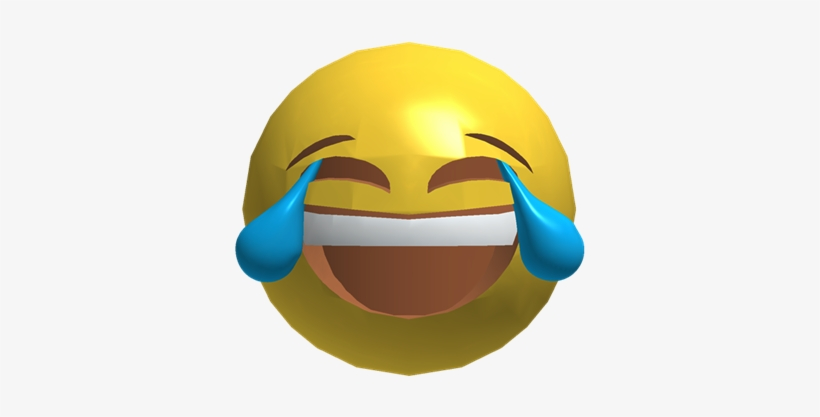 Roblox Joywithjoy Face With Tears Of Joy Emoji Free Transparent