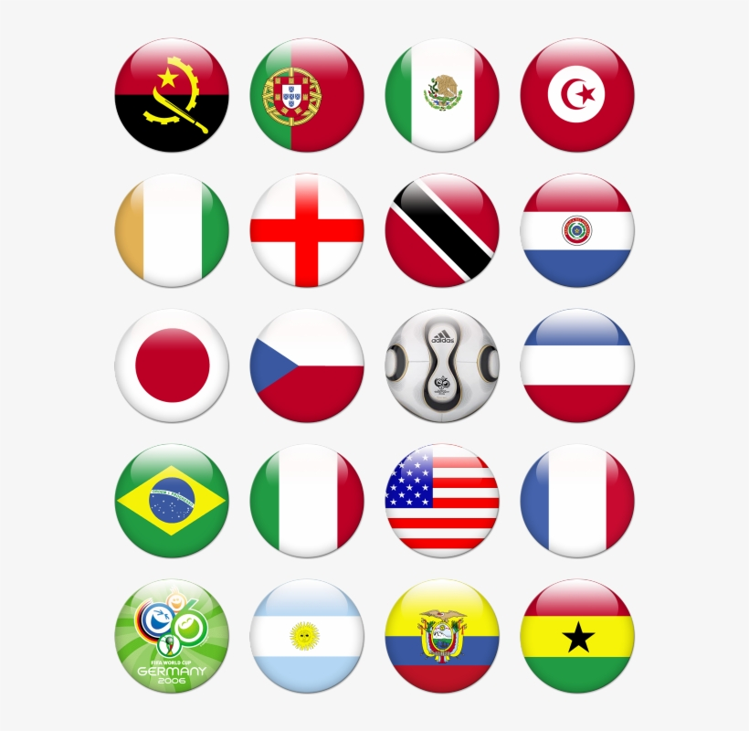 Search - Flags World Icon Png, transparent png #1757979