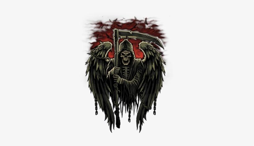 Grim Reaper Death Dealer Dead Scary Scythe Skull Free - Grim