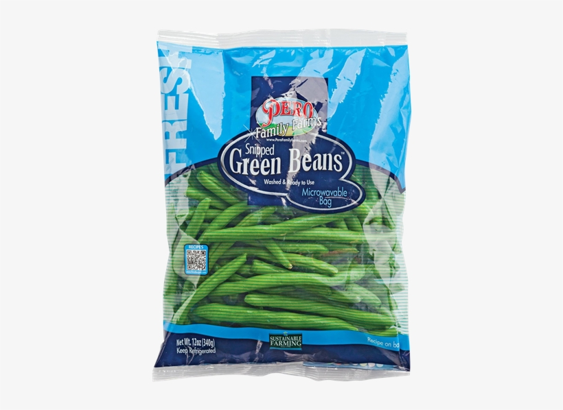 Pero Family Farms Snipped Green Beans - Pero Family Farms Organic Snipped Green Beans - 12, transparent png #1758801