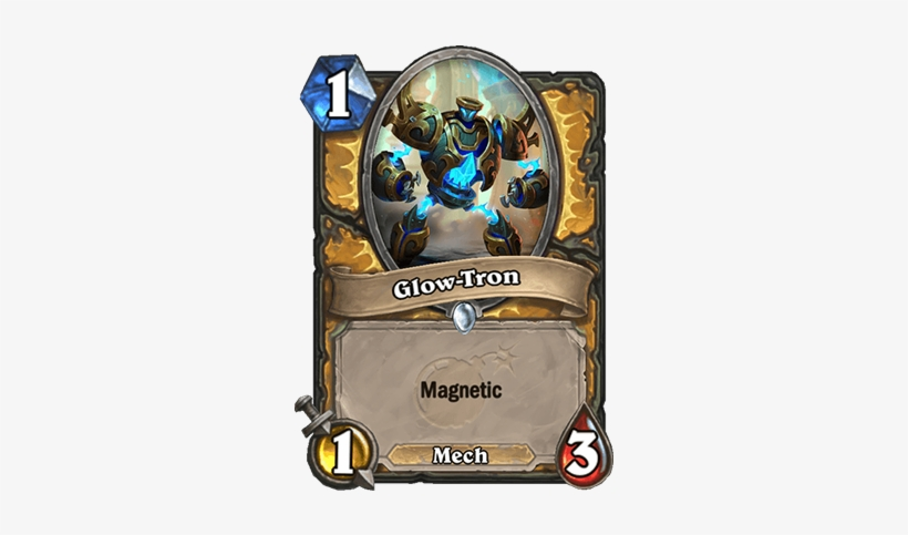 Glow-tron Card - Hearthstone 1 Mana 1 1, transparent png #1759042