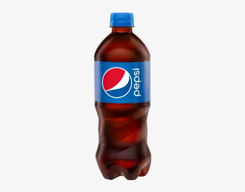 Pepsi 0,5 L - Pepsi Soda - 20 Fl Oz Bottle, transparent png #1759097