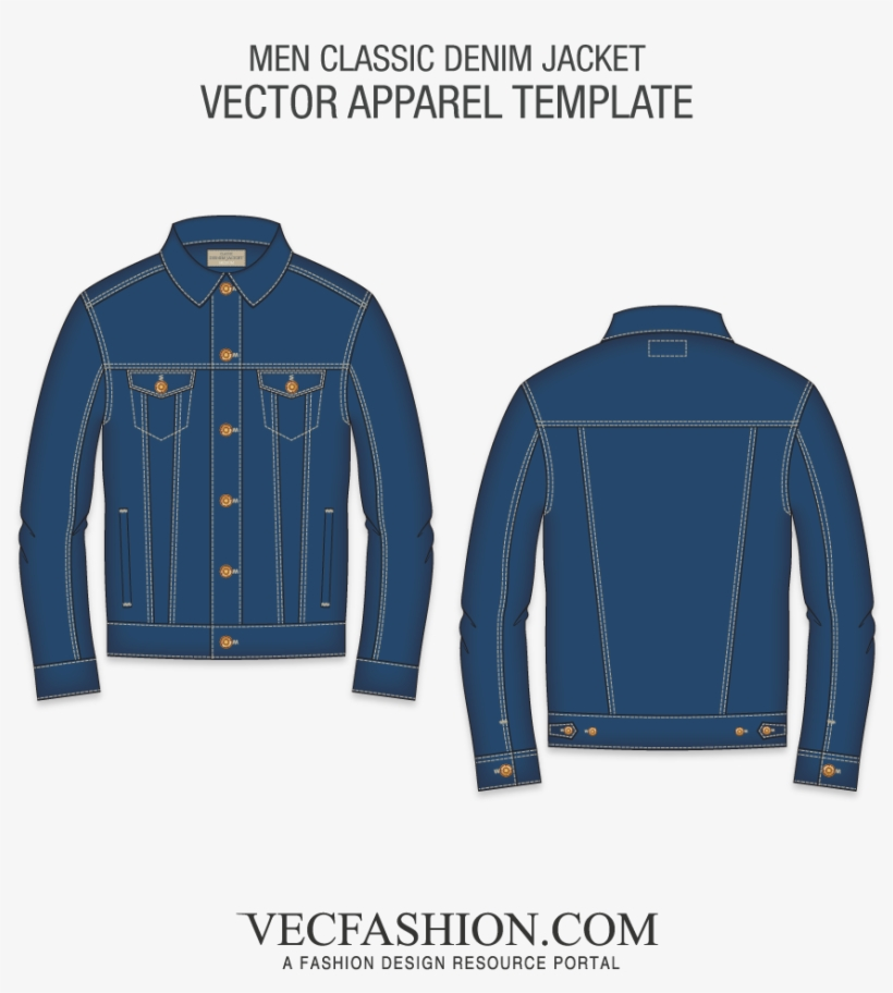 Leather Vector Jeans Label Jean Jacket Template Png Free