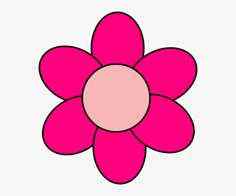Pink Cartoon Flowers - Pink Clipart - Free Transparent PNG ...