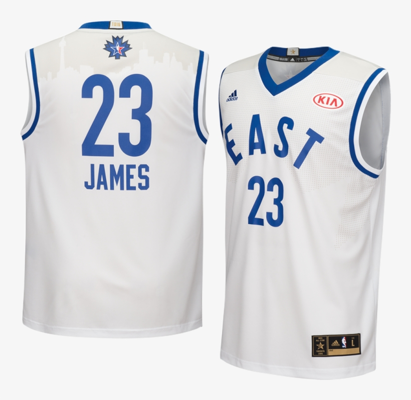 Adidas Cleveland Cavaliers Lebron James East All-star - Jersey Nba All Star 2016, transparent png #1761641