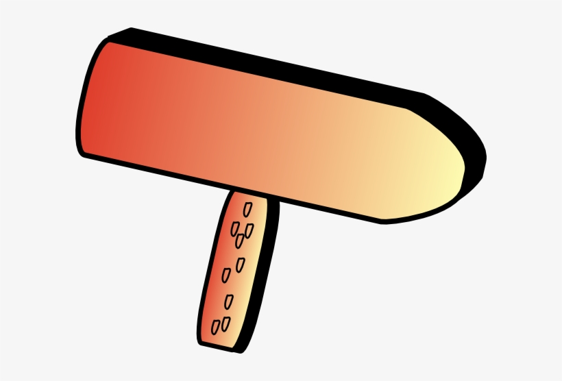 Cartoon Directional Sign Wood Clip Art - Cartoon Road Sign, transparent png #1762828