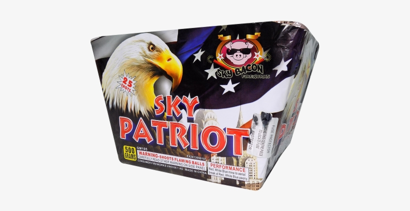 25 Shotsstand Up And Salute As This Cake Carpets The - Patriot Firework, transparent png #1763059