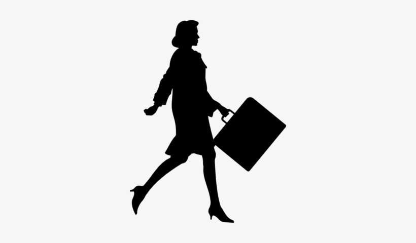 How To Build A Foundation For A Public Relations Career - Business Woman Silhouette Png, transparent png #1765241