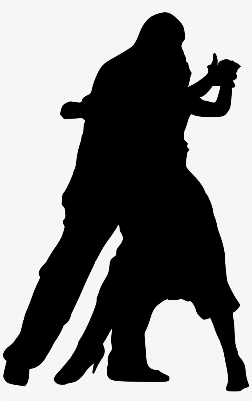 Free Png Couple Dancing Silhouette Png Images Transparent - Imagen De Danza En Blanco Y Negro, transparent png #1766496