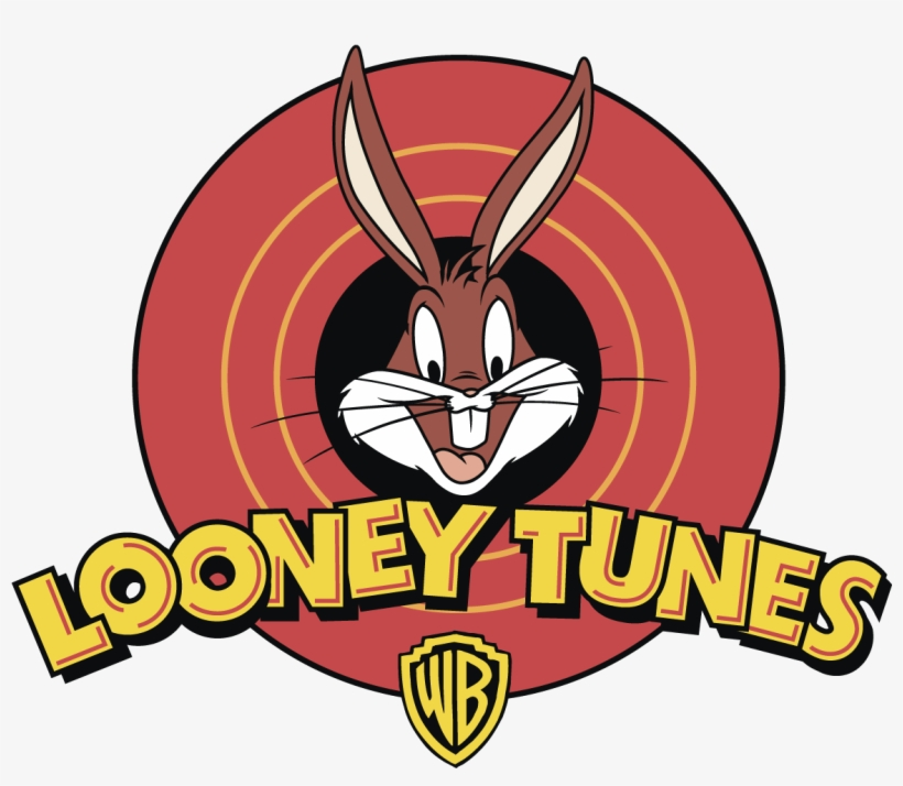 Looney Tunes Bugs Bunny Logo Vector - Looney Tunes Logo Png, transparent png #1767669