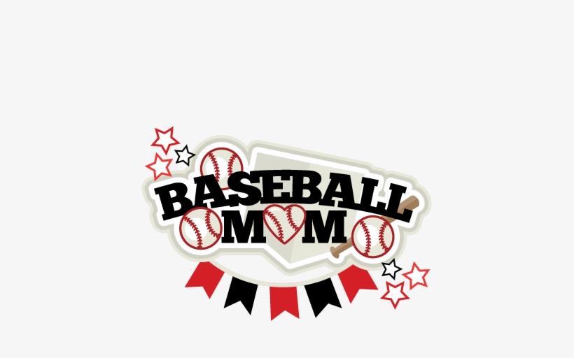 Baseball Mom Title Svg Scrapbook Cut File Cute Clipart - Free Svg Baseball Mom, transparent png #1769051