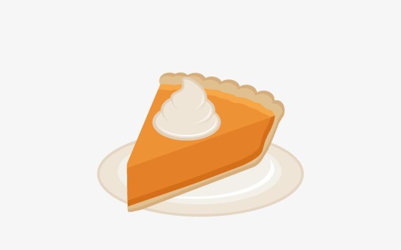 Pumpkin Pie Slice Svg Scrapbook Cut File Cute Clipart - Pumpkin Pie Clipart Png, transparent png #1769468