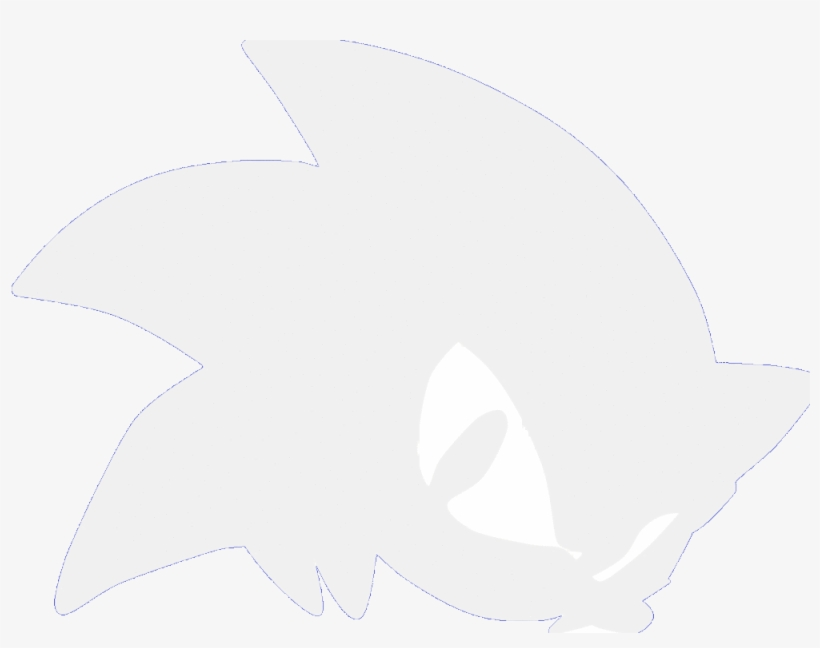 Sonic The Hedgehog Clipart Sonic Head Sonic The Hedgehog Head Logo Free Transparent Png Download Pngkey