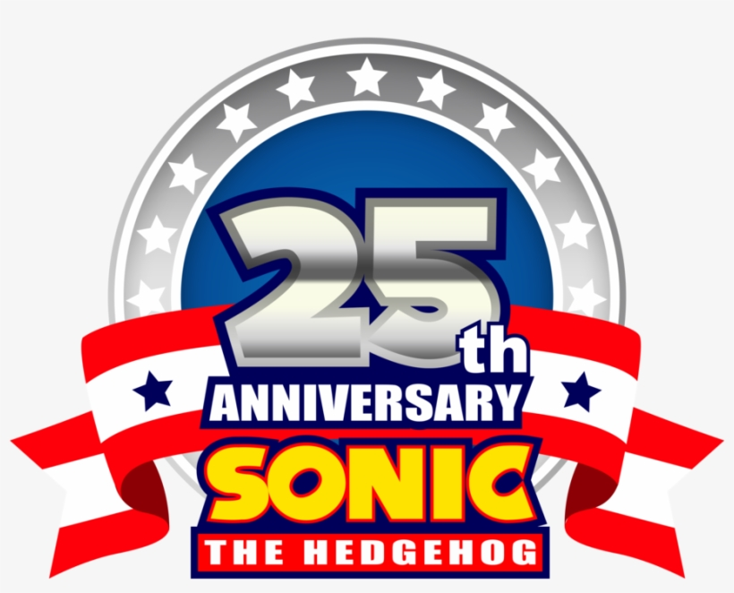 25th Anniversary Sonic The Hedgehog, transparent png #1775056