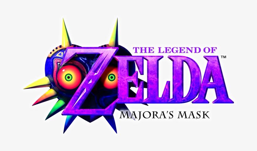 Legend Of Zelda Majora's Mask 3d Logo, transparent png #1778003